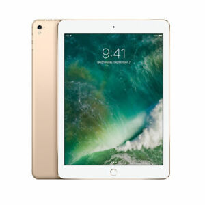 """BRAND NEW SEALED Apple iPad Pro 128GB Wi-Fi 9.7"""" HDR Camera Gold MLMX2LL/A"""