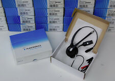 NEW Plantronics HW251N SupraPlus Headset use w M22 M12 MX10 & VOiP Voice Over IP