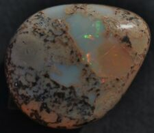 MEXICAN JEWELRY STONE 100% NATURAL MATRIX FIRE OPAL MULTI COLORS GEMSTONE