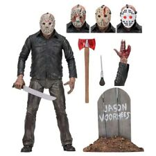 """Neca Friday The 13th Part V A New Beginning Jason Voorhees 7"""" Action Figure Toy."""