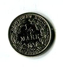 1/2 Mark Deutsches Reich Kaiserreich 1906 F Silber M_906