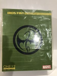 Marvel Comics One:12 Collective Iron Fist Action Figure from Mezco Toyz NEW!