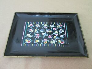 Vintage Otagiri Japanese Lacquered Collectable Tray