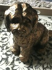 Latex Mould to Create this Sitting Dog Ornament, Suitable for Plaster