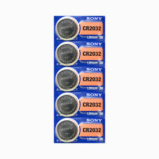 Button Battery Lithium Cr2032 220 mAh 3 V Sony 20 Pcs