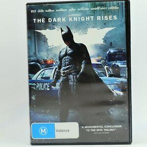 Batman The Dark Knight Rises DVD R4 Movie PAL Good Condition