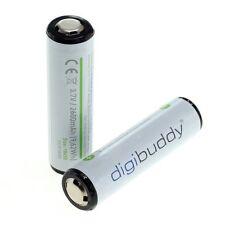Batería 2x 18650 2600mah para Fenix celda Samsung icr18650-26 con PCB protegidos