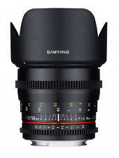 Samyang 50mm T1.5 as UMC VDSLR II Lens for Canon EF Mount
