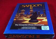 2 Apple: Sargon II 2-Hayden software 1981