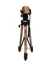 Velbon Videomate 607 Tripod With Vel-Flo 9 PH-368 Mount - WITH PLATE