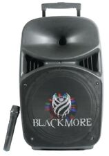 """Blackmore Pro Audio 15"""" Bluetooth Wireless Woofer- Rechargeable Battery- LED"""