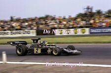 RONNIE PETERSON LOTUS JPS 72E di British Grand Prix 1973 fotografia 4