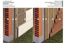 Kork Dämmplatten 1mx50cm Stärke 20mm 8Stück Wand Decke Dachboden Natur Baustoff