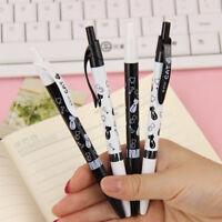 3PCS/Lot NEW Cat Ball Pens 0.5mm Blue Ink Ballpoint Pens School Office Supplies