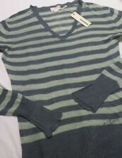 Women's Diesel  Linen Jumper Green Color Size S BNWT