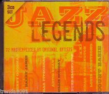 Jazz Legends 3CD 60s BENNY GOODMAN DINAH WASHINGTON LENA HORNE COUNT BASIE