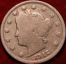 1912-S San Francisco Mint Liberty Nickel