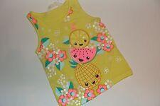 H&M Fruit Top Shirt Tank Girls Girl Size 2 3 4 NWT NEW