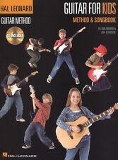 Hal Leonard Guitar Method For Kids Learn to Play Beginner Easy Music Book & CD