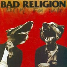 Bad Religion ‎– Recipe For Hate [Audio CD] Disc & Pamphlet ONLY