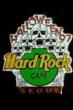 HRC HARD ROCK CAFE Seoul Halloween 1997 Skull XL FOTO