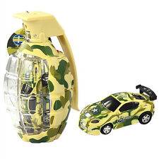 "2.7"" Army Camouflage Mini Grenade RC Car Remote Control Christmas MC98 Yellow"