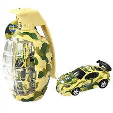 "2.7"" Army Camouflage Mini Grenade RC Car Remote Control Christmas MC98 Yellow"