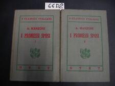 I classici italiani UTET Manzoni I PROMESSI SPOSI (66 D 2)