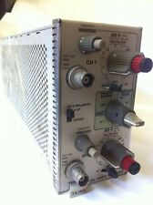 TEKTRONIX 7A18A Dual Trace Amplifier Plug In fd3a1