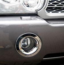 Chrome FOG LAMP SURROUND for Range Rover L322 Vogue 2006-2009 light bumper trim