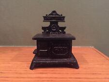 Miniature c.1900 GEM Cast Iron Toy Stove Shimer/Arcade