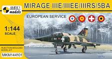 Mark I Models 1/144 Dassault Mirage IIIE/IIIEE/IIIRS/5BA 'European Service' # 14