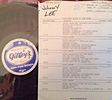 Radio Show: LIVE FROM GILLEY'S  JOHNNY LEE 4/27/85 13 SONGS LIVE IN CONCERT