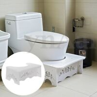 Toilet Stool Footstep Bathroom Stand Potty Squat For Constipation Piles Relief