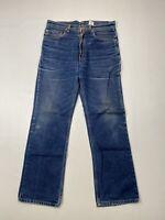 LEVI'S 517 STRAIGHT Jeans - W32 L30 - Blue - Great Condition - Men's