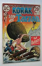 "Korak #52 (DC 7/73) VF+  ""The Outcasts!""/Joe Kubert-a. Wow!!!!"