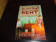 Beauty Shop for Rent Fully Equipped, Inquire Within Laura Bowers Hardcover Book