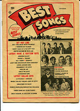 original USA Pop / Teen Magazine: Best Songs  (September 1967)