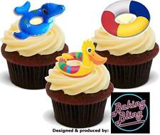 Novelty Rubber Ring Mix Edible Stand Up Fairy Cake Cupcake Toppers Decorations