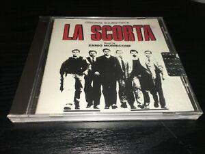 ENNIO MORRICONE LA SCORTA CD SIGILLATO/SEALED FUORI CATALOGO ORIGINAL SOUNDTRACK