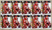 Chris Osgood 1994-95 Pinnacle #199 Detroit Redwings 10ct Card Lot