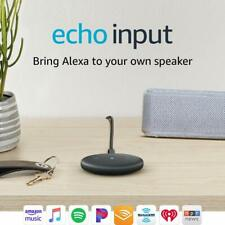 Amazon Echo Input – Bring Alexa to your own speaker- Black