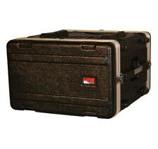 "Gator Cases GR-6L 4U Audio Console Rack Case 19"" Deep Lightweight W/ Latches New"