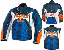 GIACCA JACKET CROSS ENDURO KINI RED BULL COMPETITION NAVY ORANGE KTM TG XL