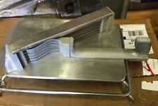 "COMMERCIAL TOMATO SLICER CUTTER 1/4"" HEAVY DUTY INDUSTRIAL TOMATO TAMER Used"