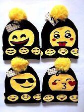 WINTER EMOJI HAT ADULT WARM HAT SMILEY HAT EMOJI BOBBLE HAT FOR ADULT MEN BOYS
