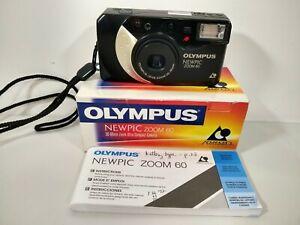 Olympus NEWPIC Zoom 60 APS Film Camera 30-60mm Lens