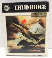 Thud Ridge American Aces In Nam Commodore 64 Combat Sim Complete Big Box
