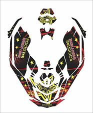 Sea-Doo Bombardier Spark 2 3 Jet Ski Graphic Kit Wrap Jetski pwc decals wrap rs
