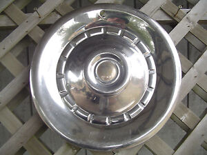 1957 57 CHRYSLER IMPERIAL LEBARON HUBCAP WHEEL COVER ANTIQUE VINTAGE CLASSIC